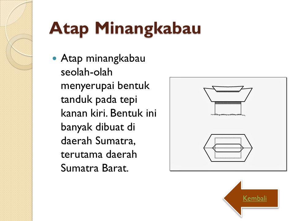 Atap Minangkabau