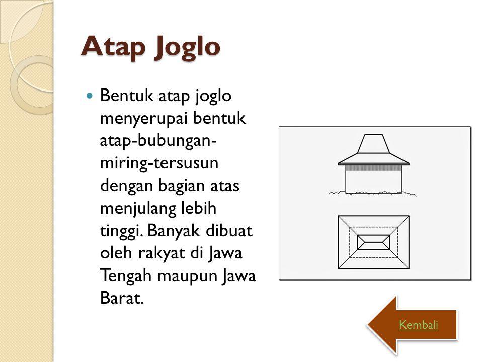 Atap Joglo