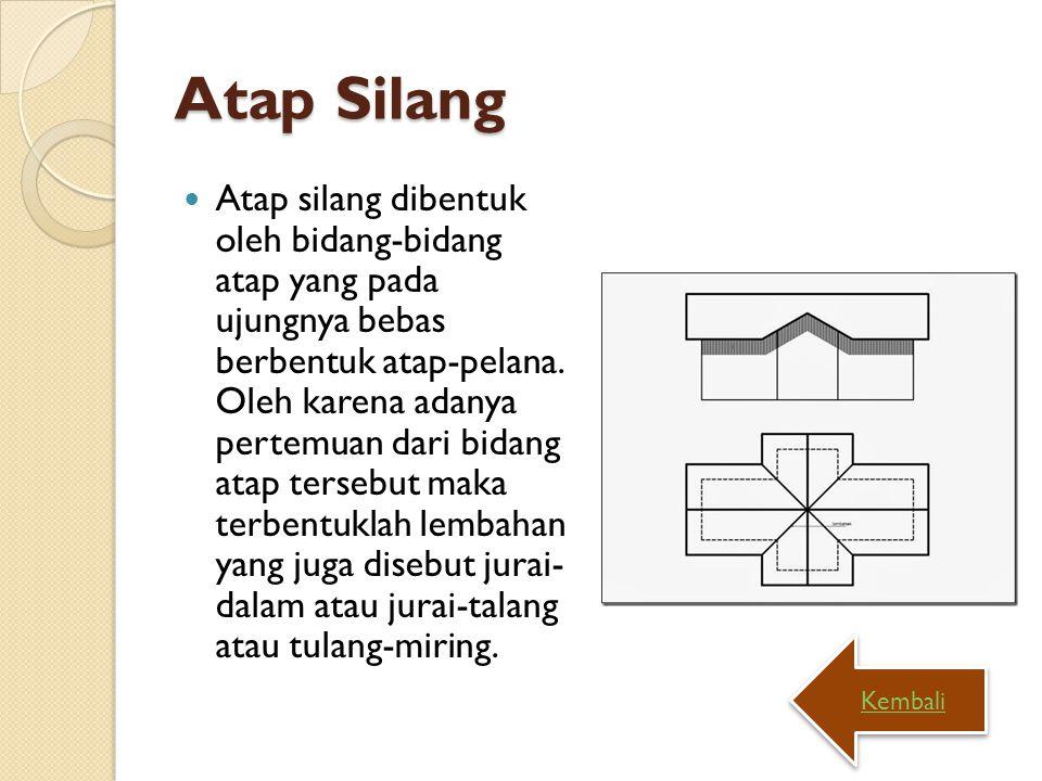 Atap Silang
