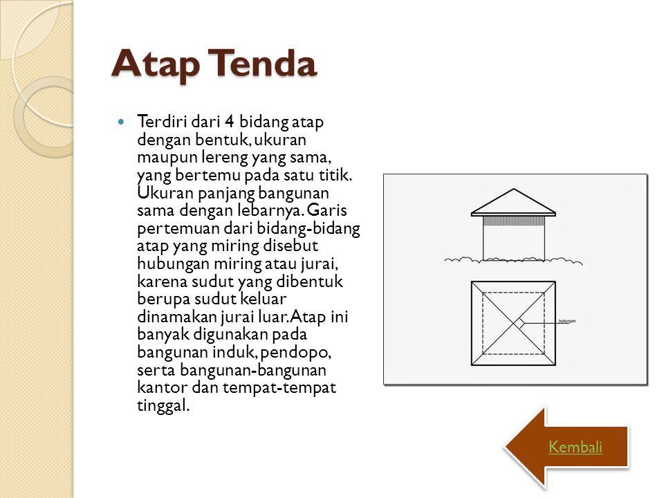 Atap Tenda