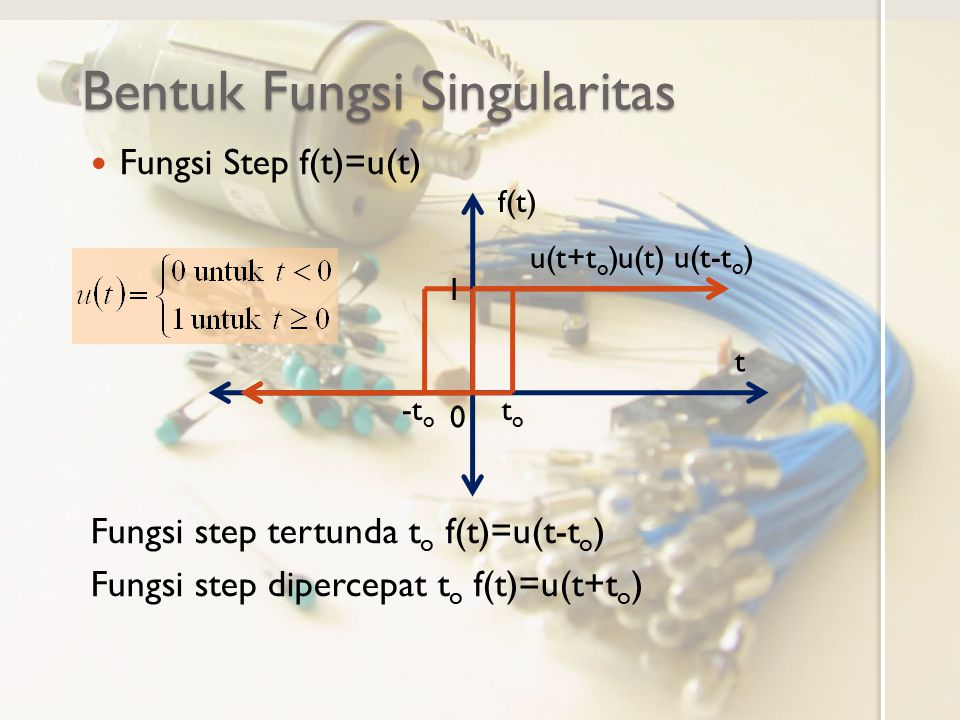 Bentuk Fungsi Singularitas