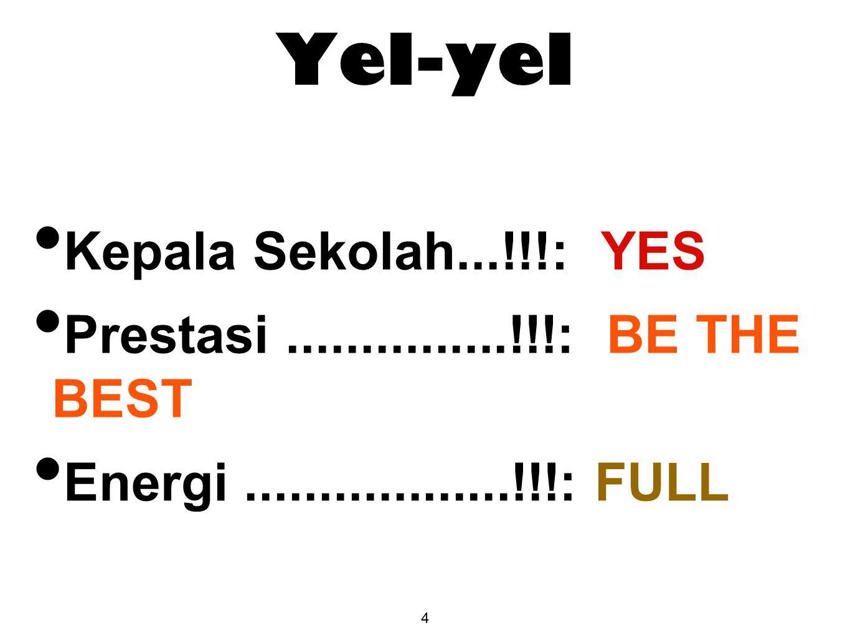 Yel-yel Kepala Sekolah...!!!: YES