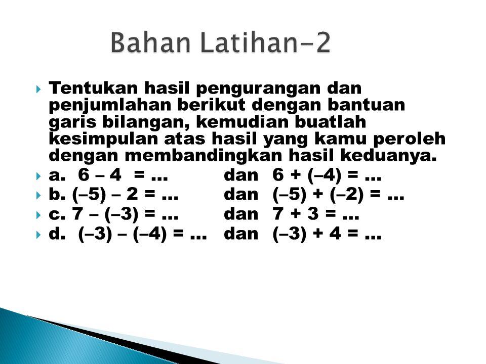 Bahan Latihan-2