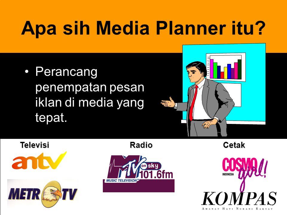 Apa sih Media Planner itu