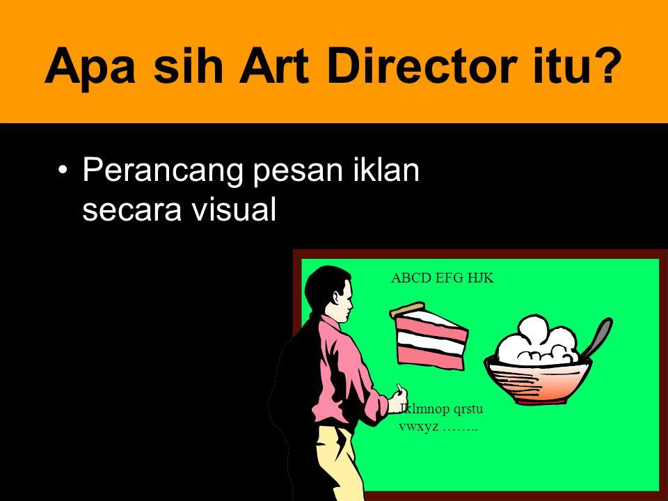 Apa sih Art Director itu