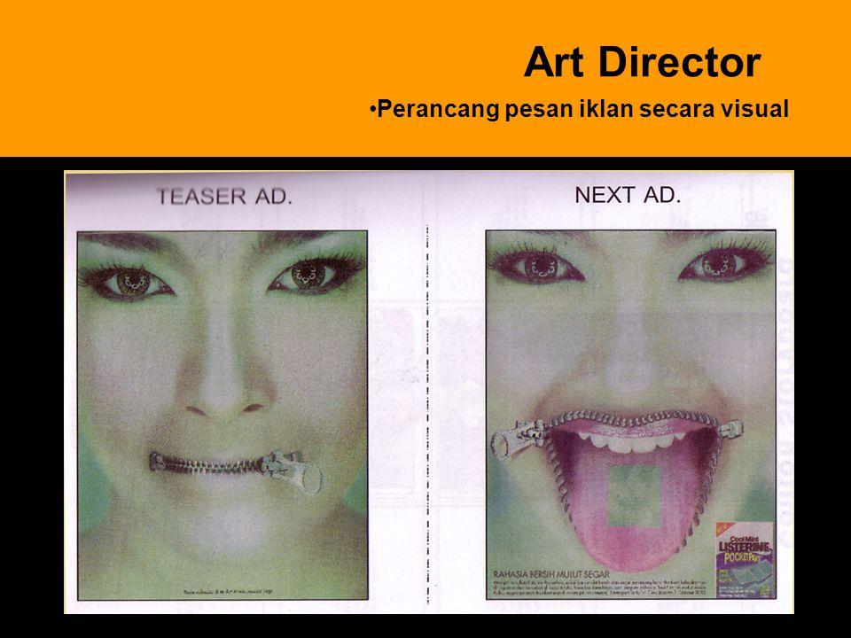 Perancang pesan iklan secara visual