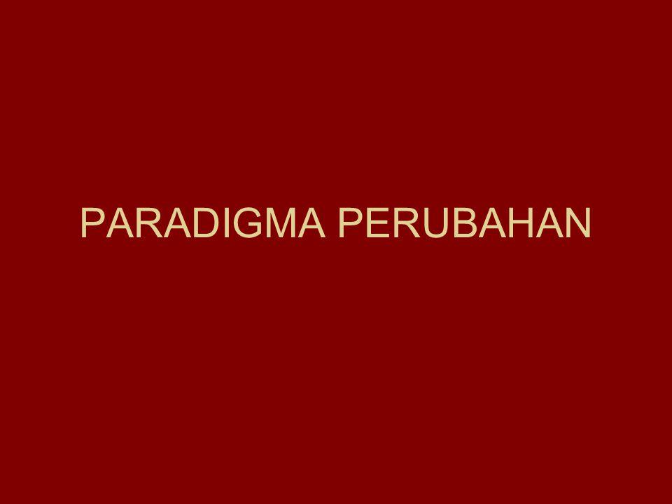 PARADIGMA PERUBAHAN