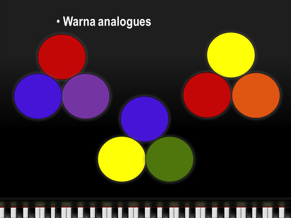 Warna analogues