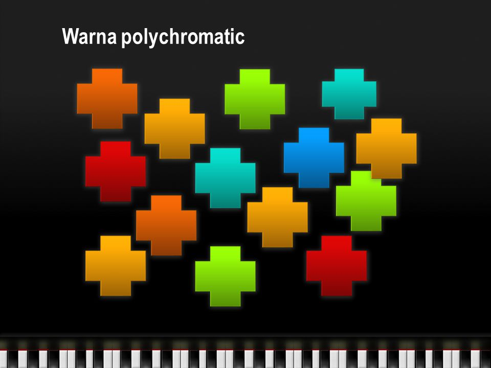 Warna polychromatic