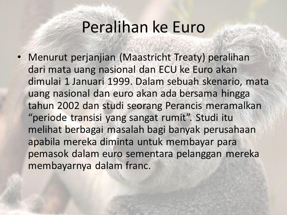 Peralihan ke Euro