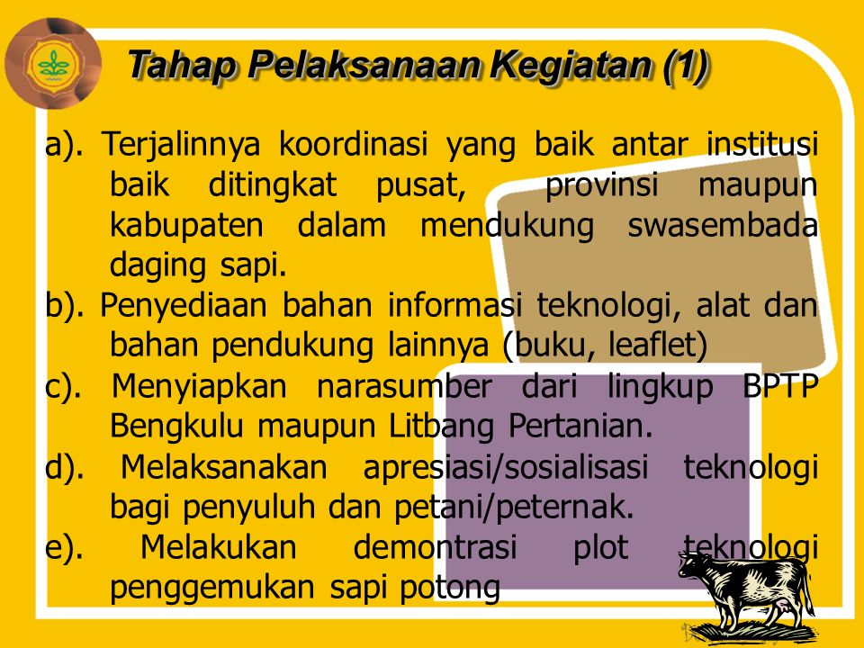 Tahap Pelaksanaan Kegiatan (1)