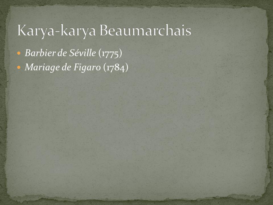 Karya-karya Beaumarchais