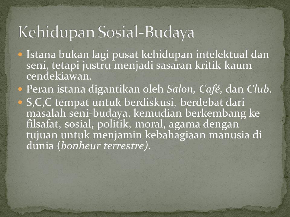 Kehidupan Sosial-Budaya