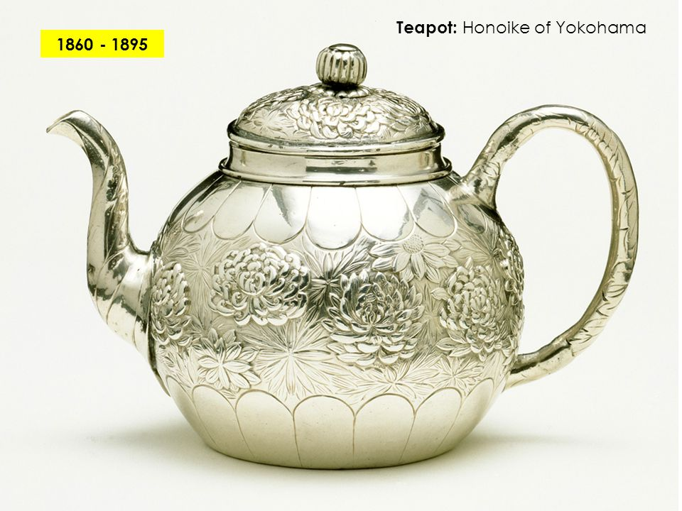 Teapot: Honoike of Yokohama