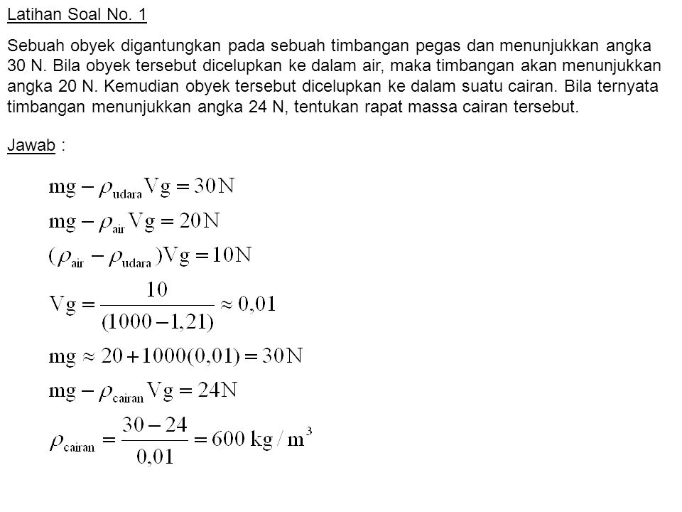 Latihan Soal No. 1