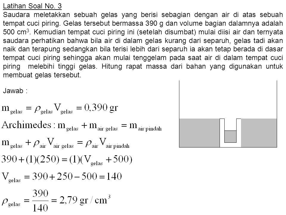 Latihan Soal No. 3