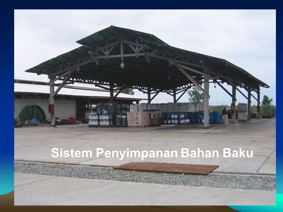 Sistem Penyimpanan Bahan Baku
