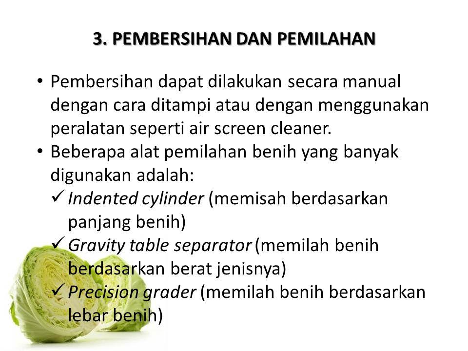 3. PEMBERSIHAN DAN PEMILAHAN