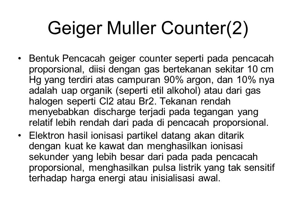 Geiger Muller Counter(2)