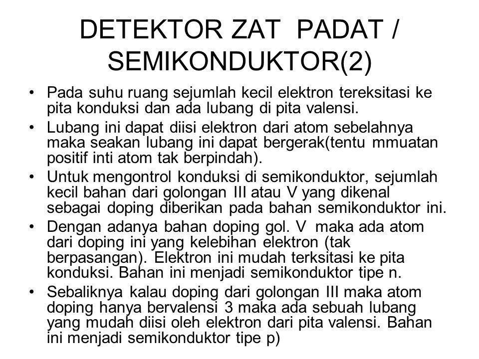 DETEKTOR ZAT PADAT / SEMIKONDUKTOR(2)