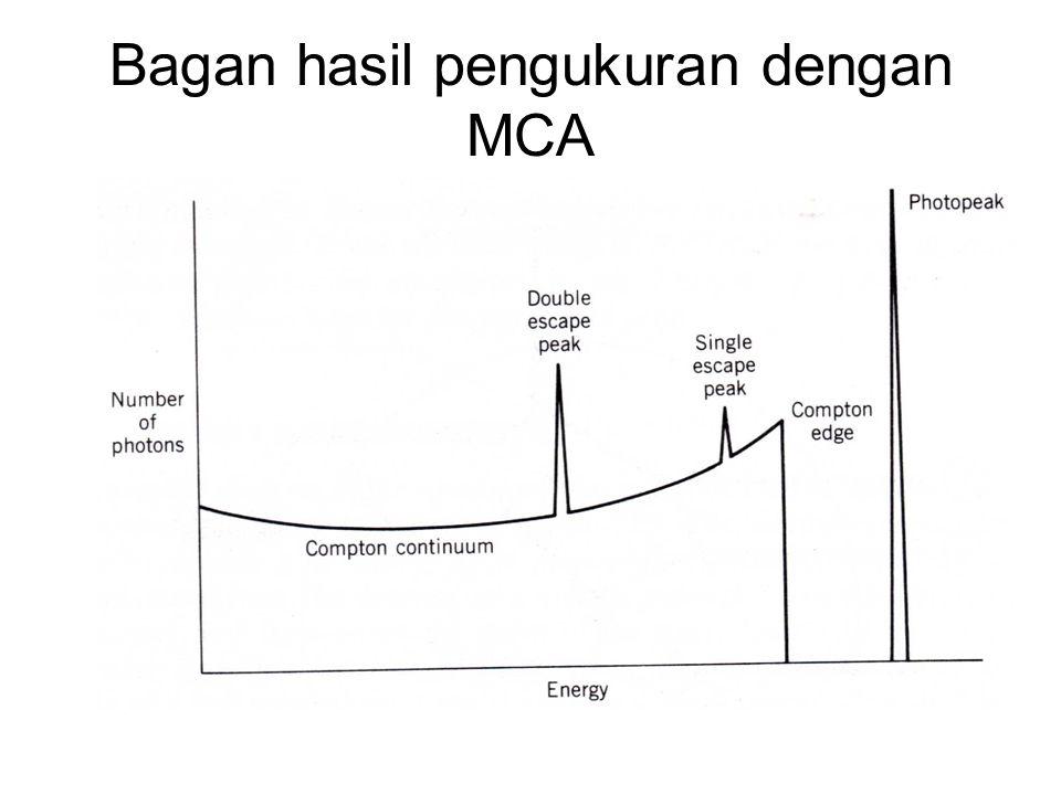 Bagan hasil pengukuran dengan MCA