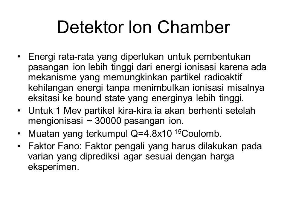 Detektor Ion Chamber