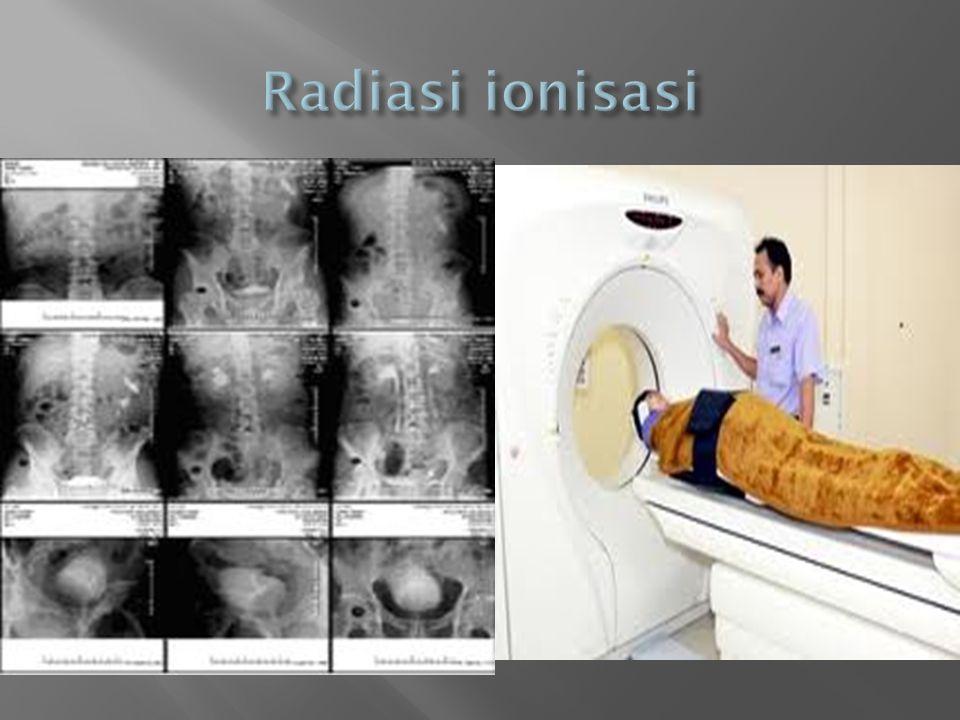 Radiasi ionisasi