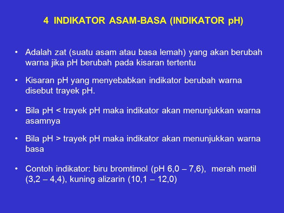 4 INDIKATOR ASAM-BASA (INDIKATOR pH)