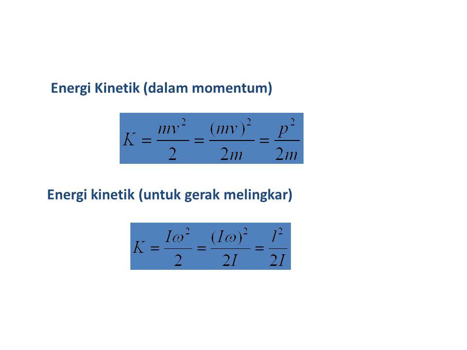Energi Kinetik (dalam momentum)