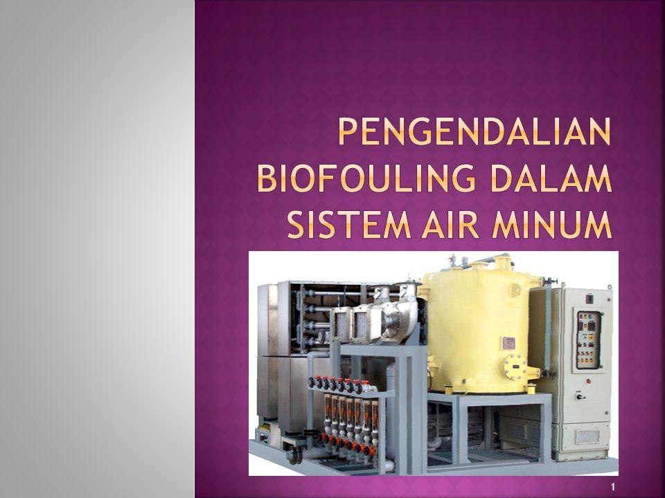 Pengendalian Biofouling dalam Sistem Air Minum