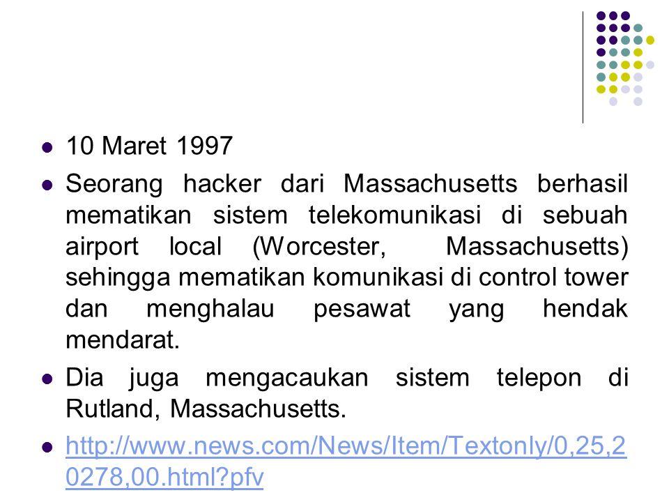 10 Maret 1997