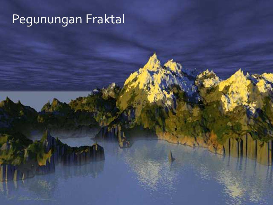 Pegunungan Fraktal