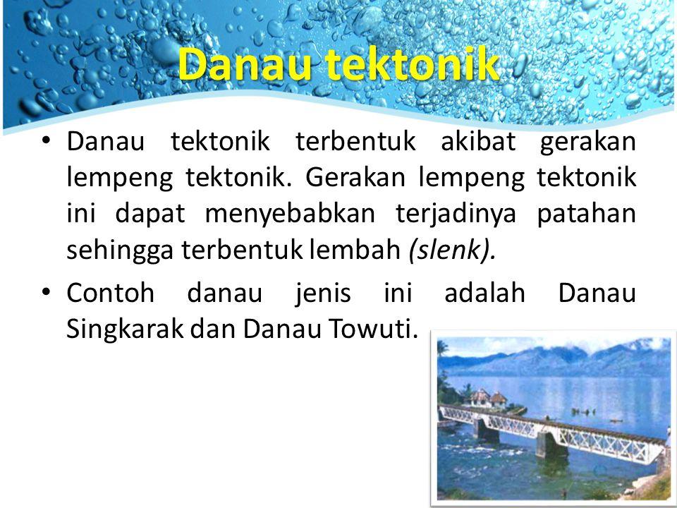 Danau tektonik