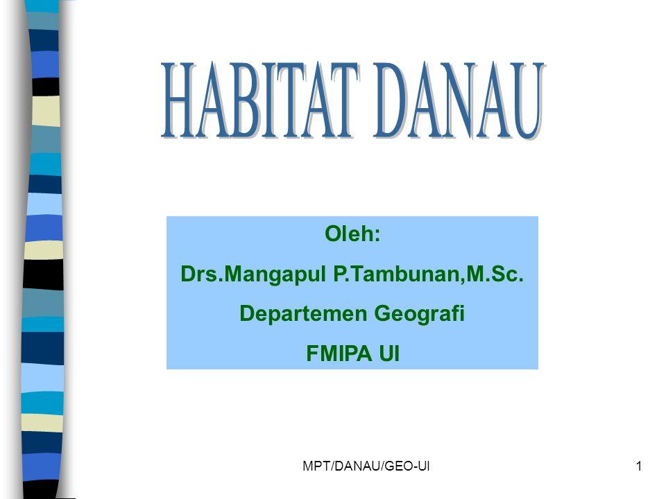 Drs.Mangapul P.Tambunan,M.Sc.