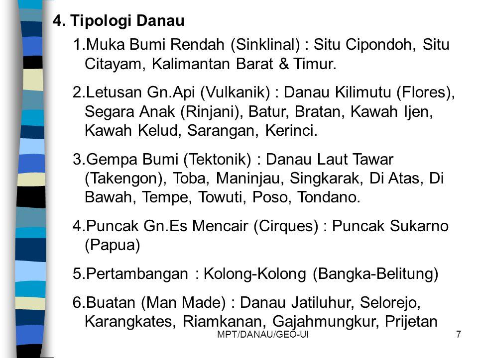 4.Puncak Gn.Es Mencair (Cirques) : Puncak Sukarno (Papua)