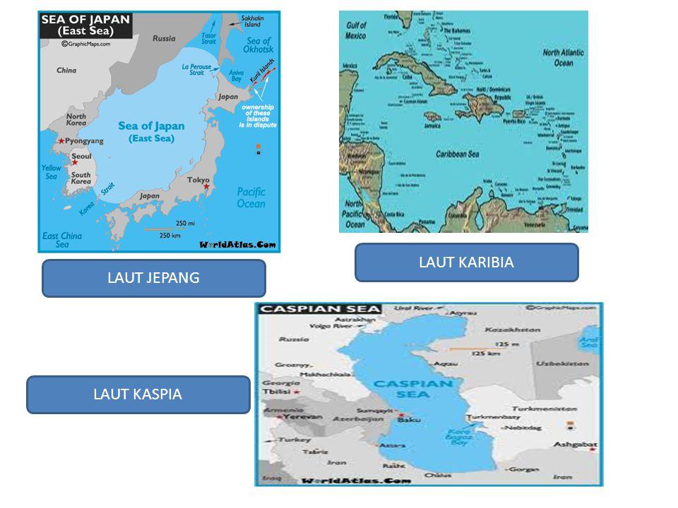 LAUT KARIBIA LAUT JEPANG LAUT KASPIA
