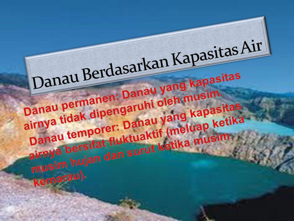 Danau Berdasarkan Kapasitas Air