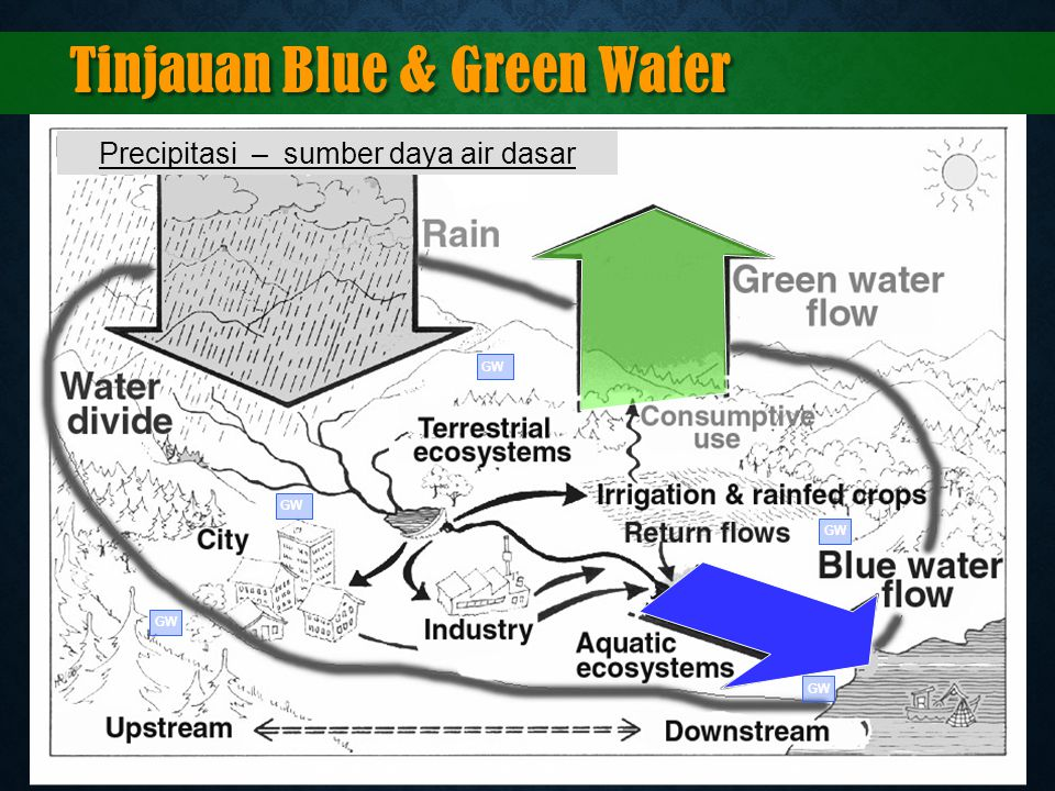 Tinjauan Blue & Green Water