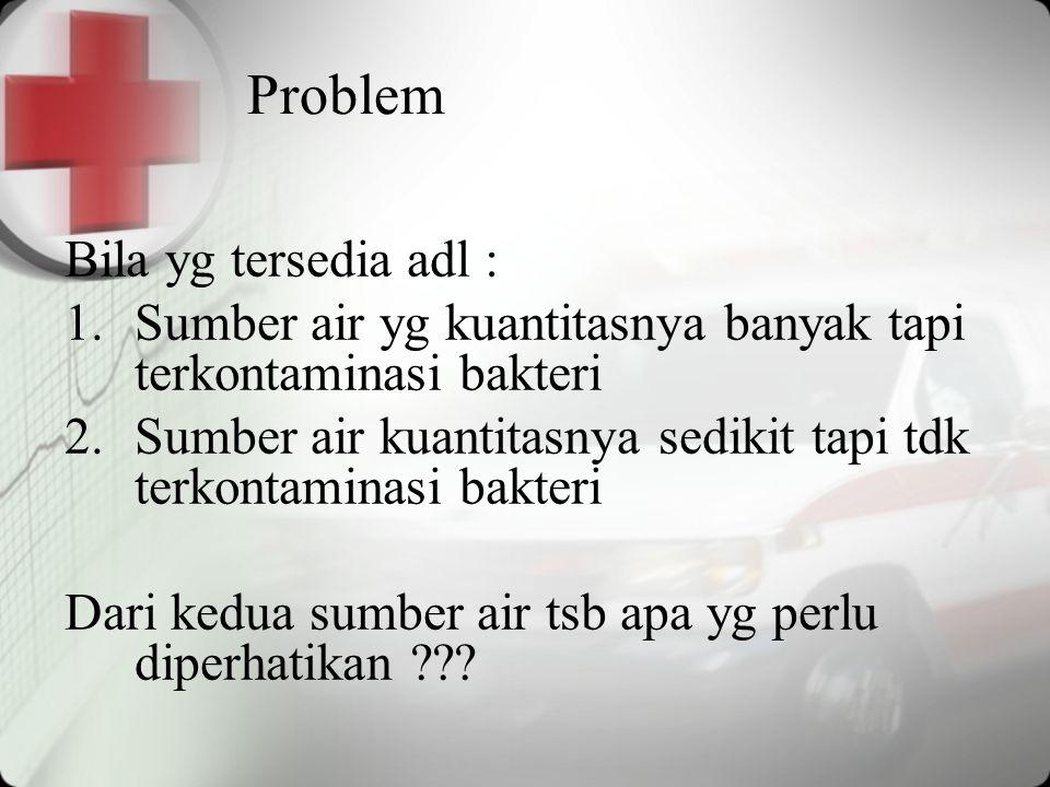 Problem Bila yg tersedia adl :