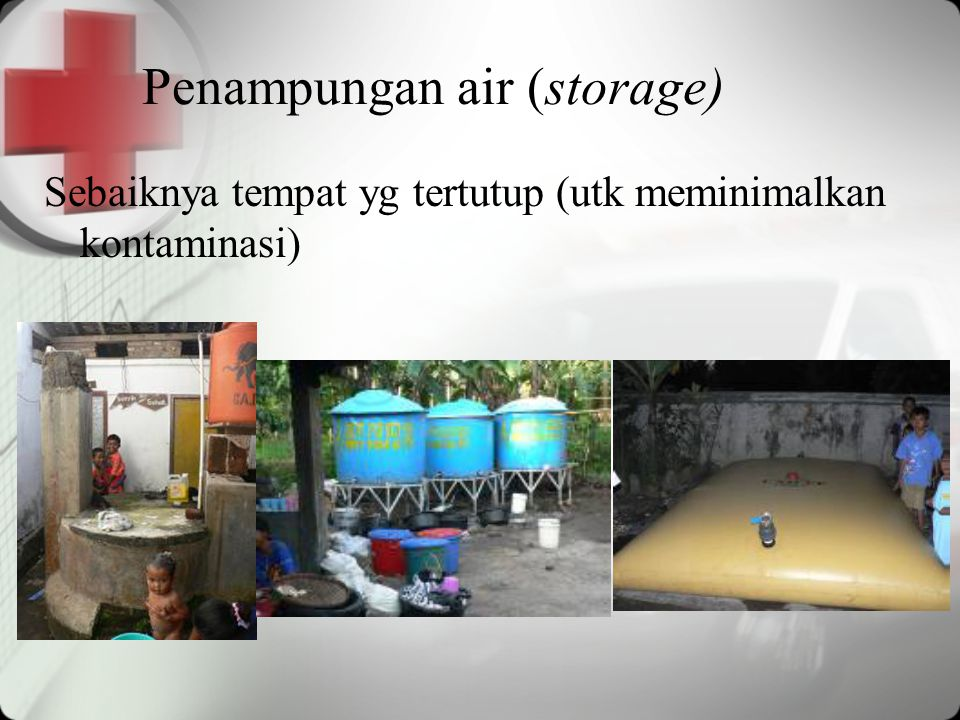 Penampungan air (storage)