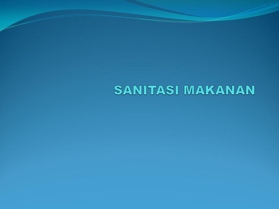 SANITASI MAKANAN