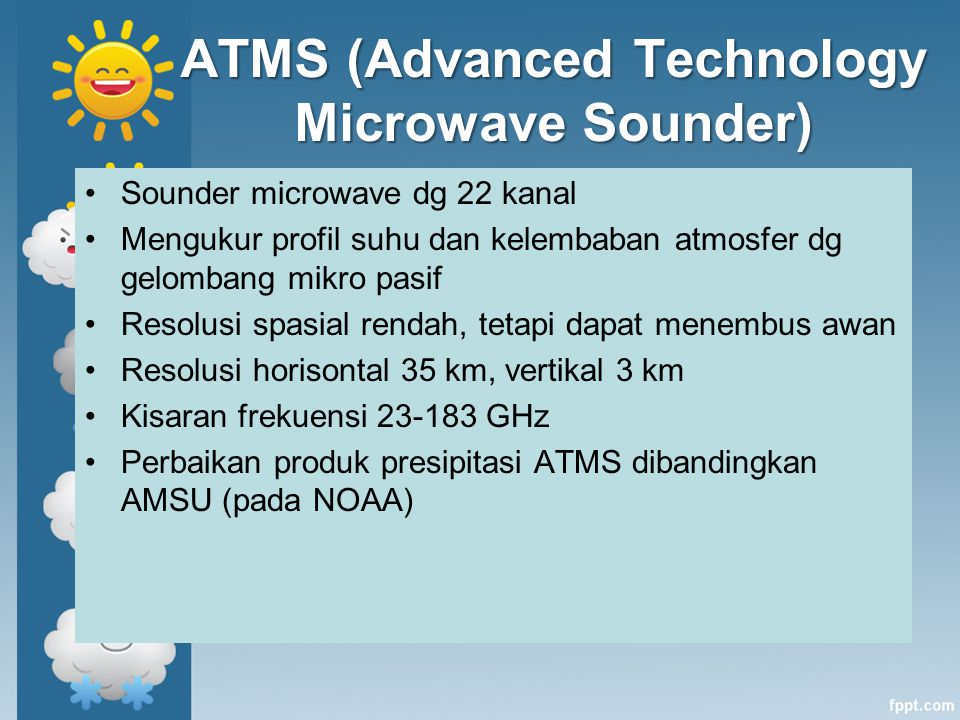 ATMS (Advanced Technology Microwave Sounder)