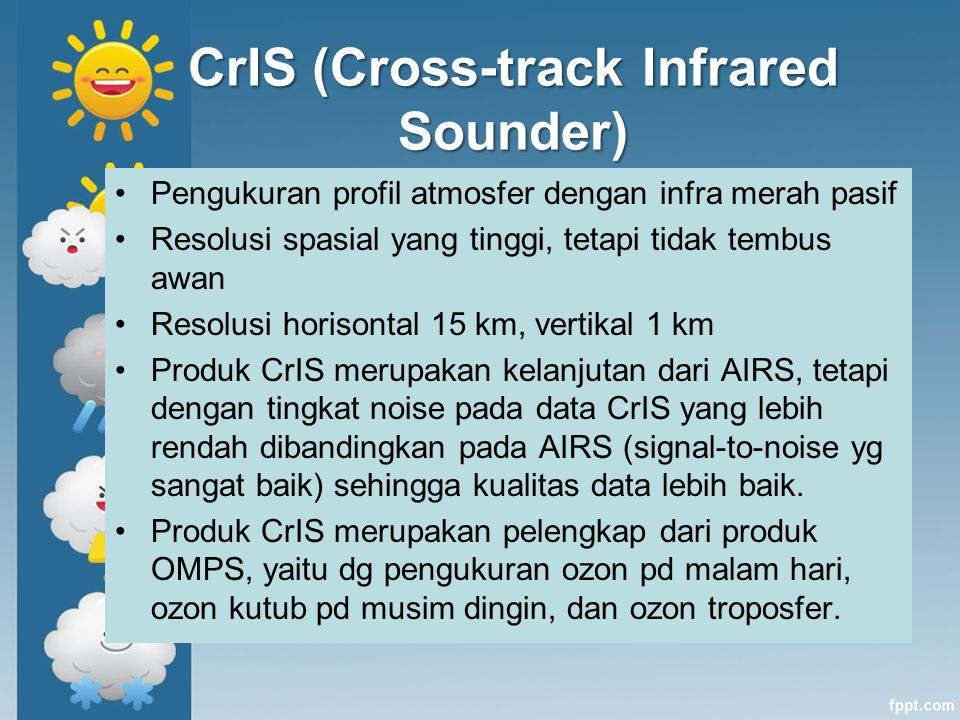 CrIS (Cross-track Infrared Sounder)