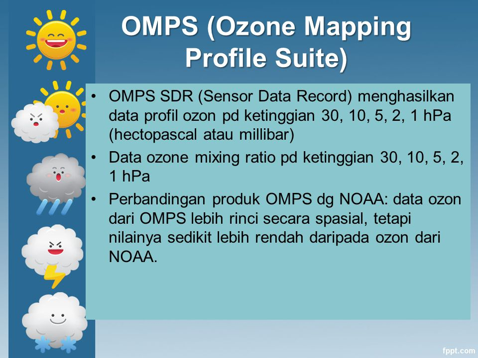 OMPS (Ozone Mapping Profile Suite)