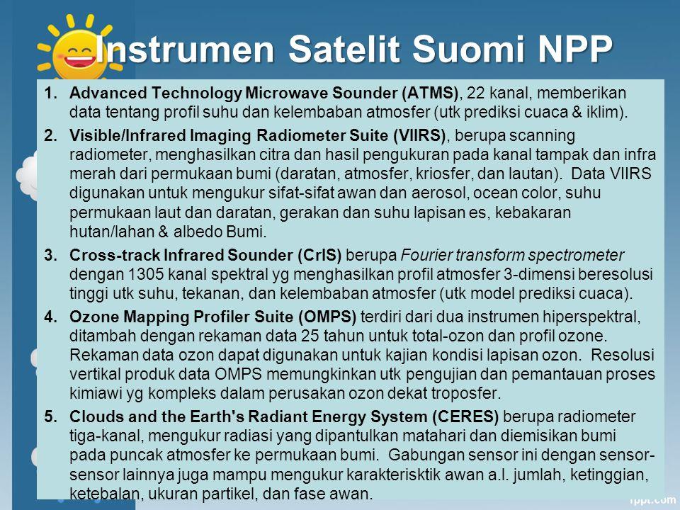 Instrumen Satelit Suomi NPP