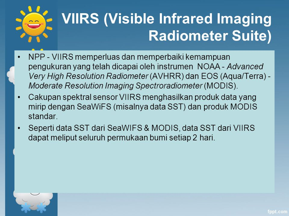 VIIRS (Visible Infrared Imaging Radiometer Suite)