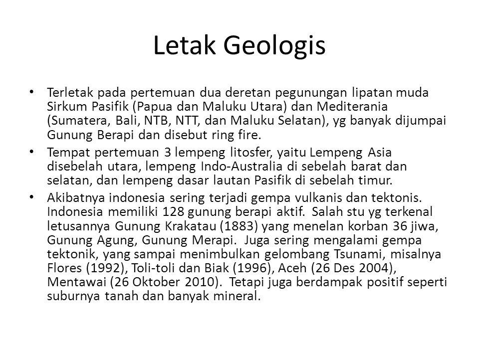 Letak Geologis