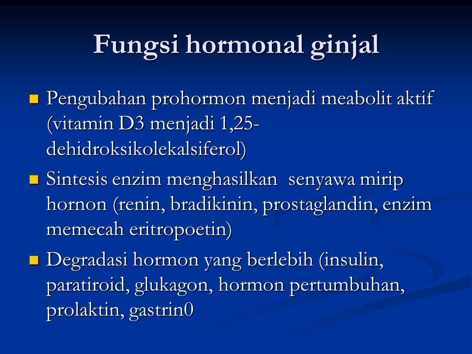 Fungsi hormonal ginjal
