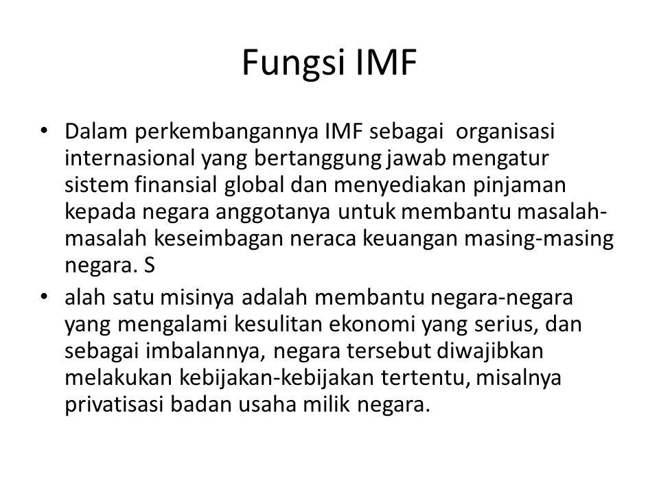 Fungsi IMF