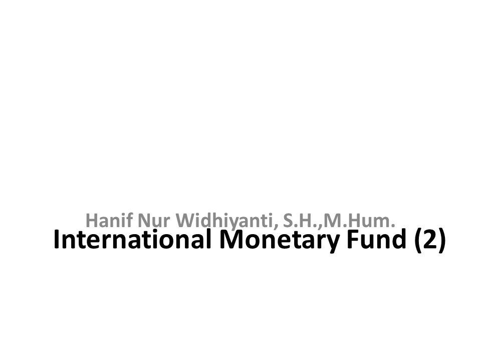 International Monetary Fund (2)